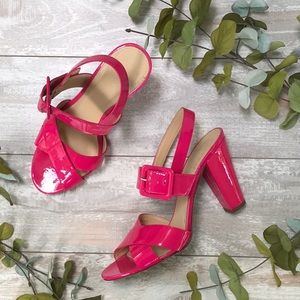 J. Crew Patten Leather Heels